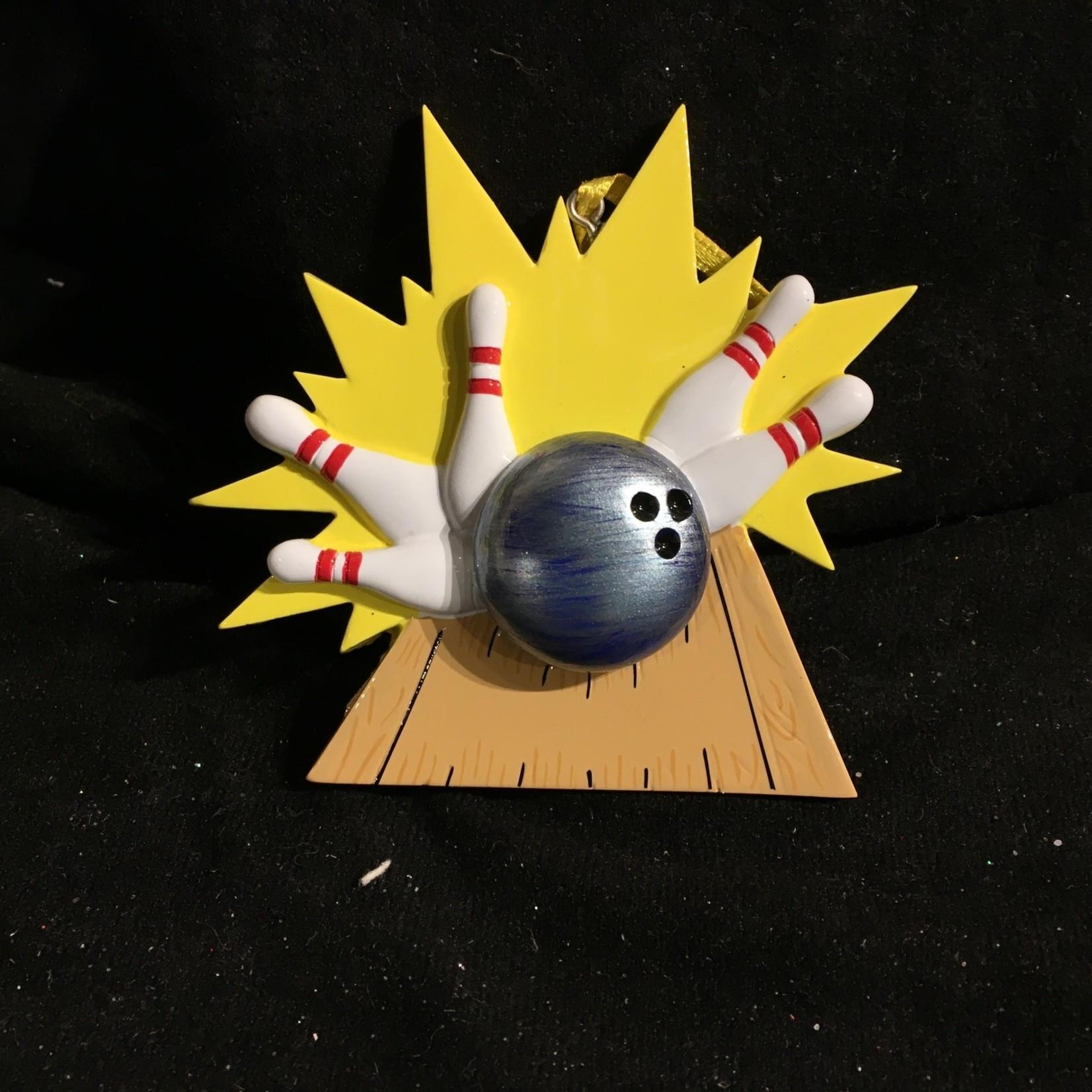 Bowling Ornament