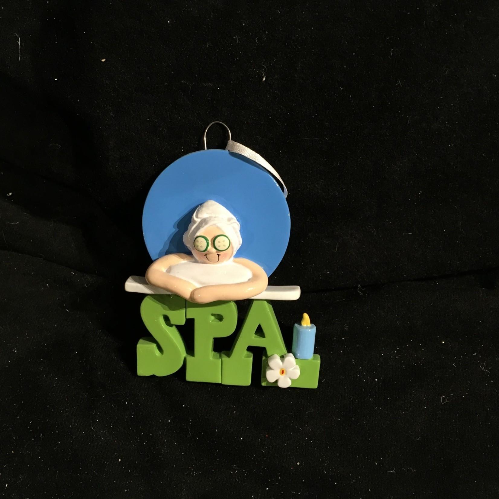 Spa Girl Ornament