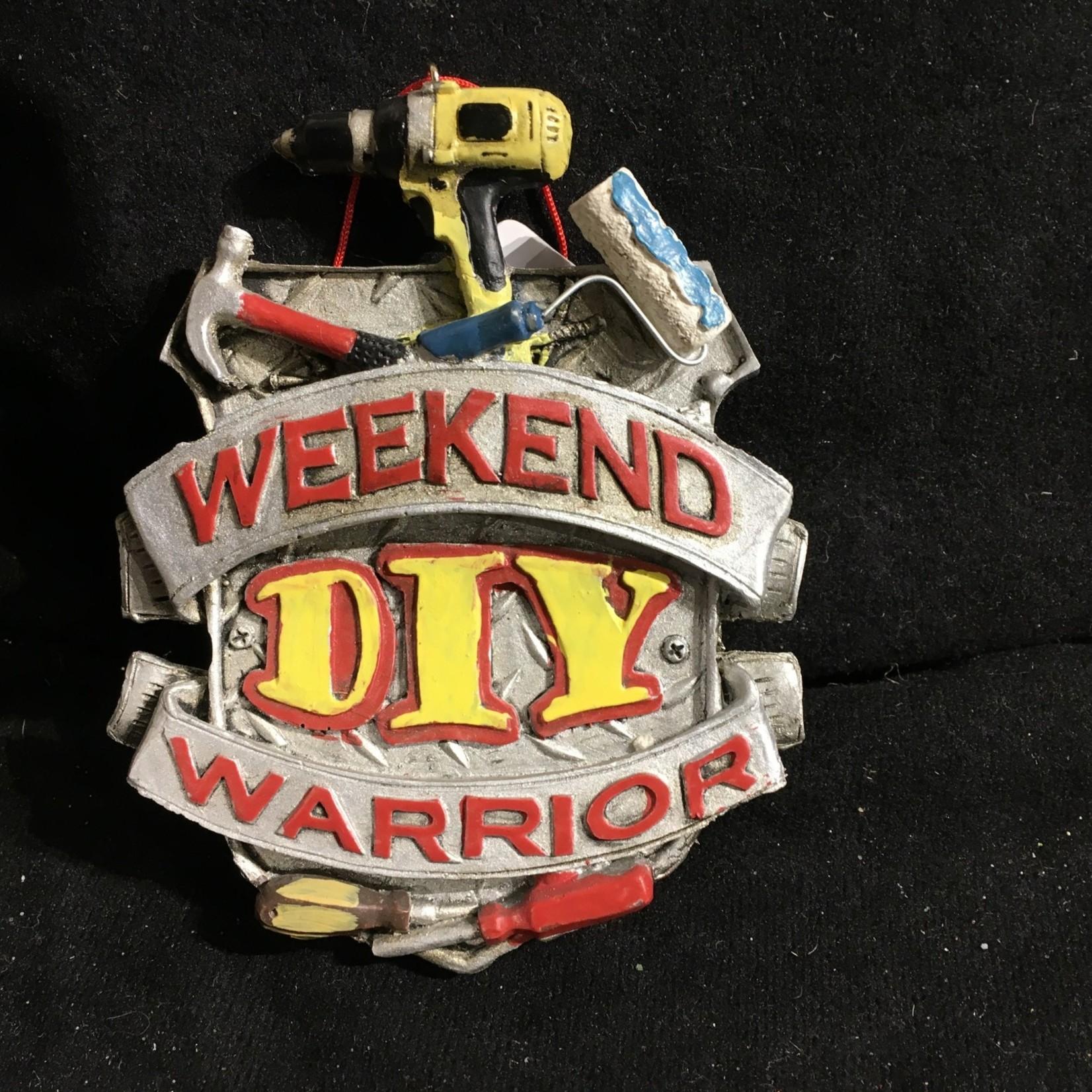 Weekend Warrior DIY Orn
