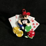 **Texas Hold Em Ornament