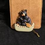 Bear Paddle Canoe Orn