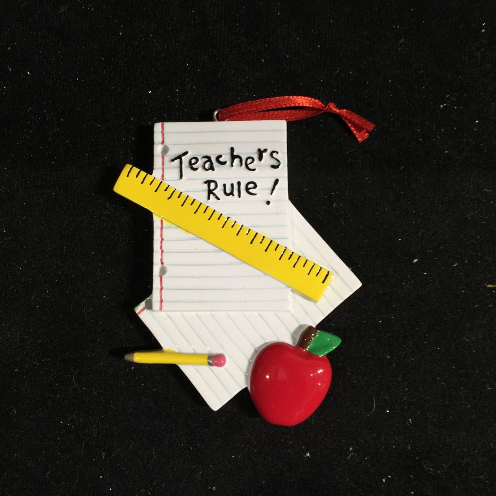 Teachers Rule Ornament