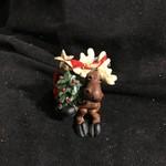 Tree Hugging Moose Ornament
