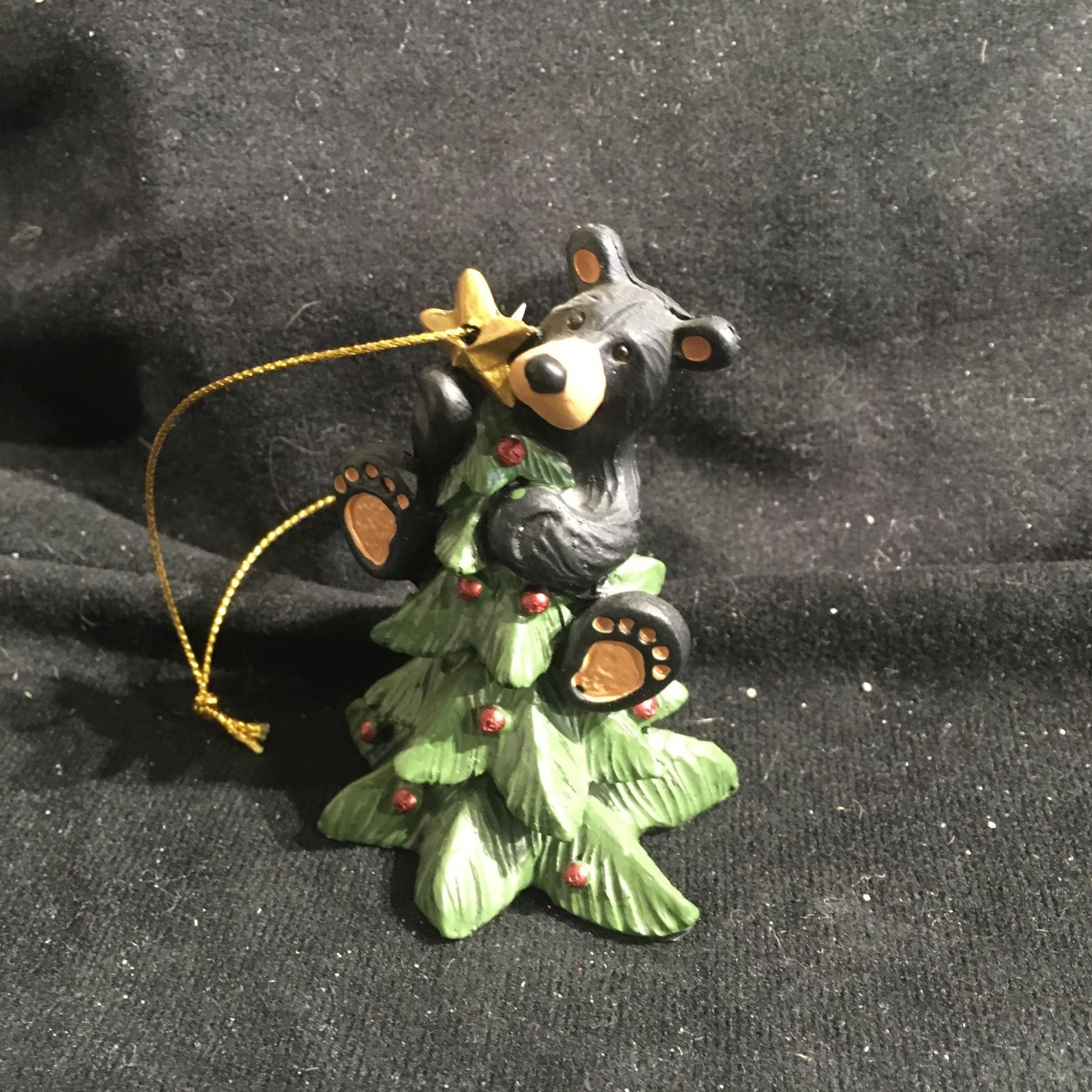 Bear Tree Topper Ornament