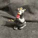 """""""Will You?"""" Bear Ornament"""