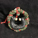 Christmas Bear Kiss Ornament