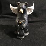 "5"" Guardian Angel Bear Figurine"