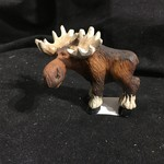 "2.5"" Standing  Mini Moose Figurine"