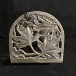 Maple Leaf Metal Napkin Holder