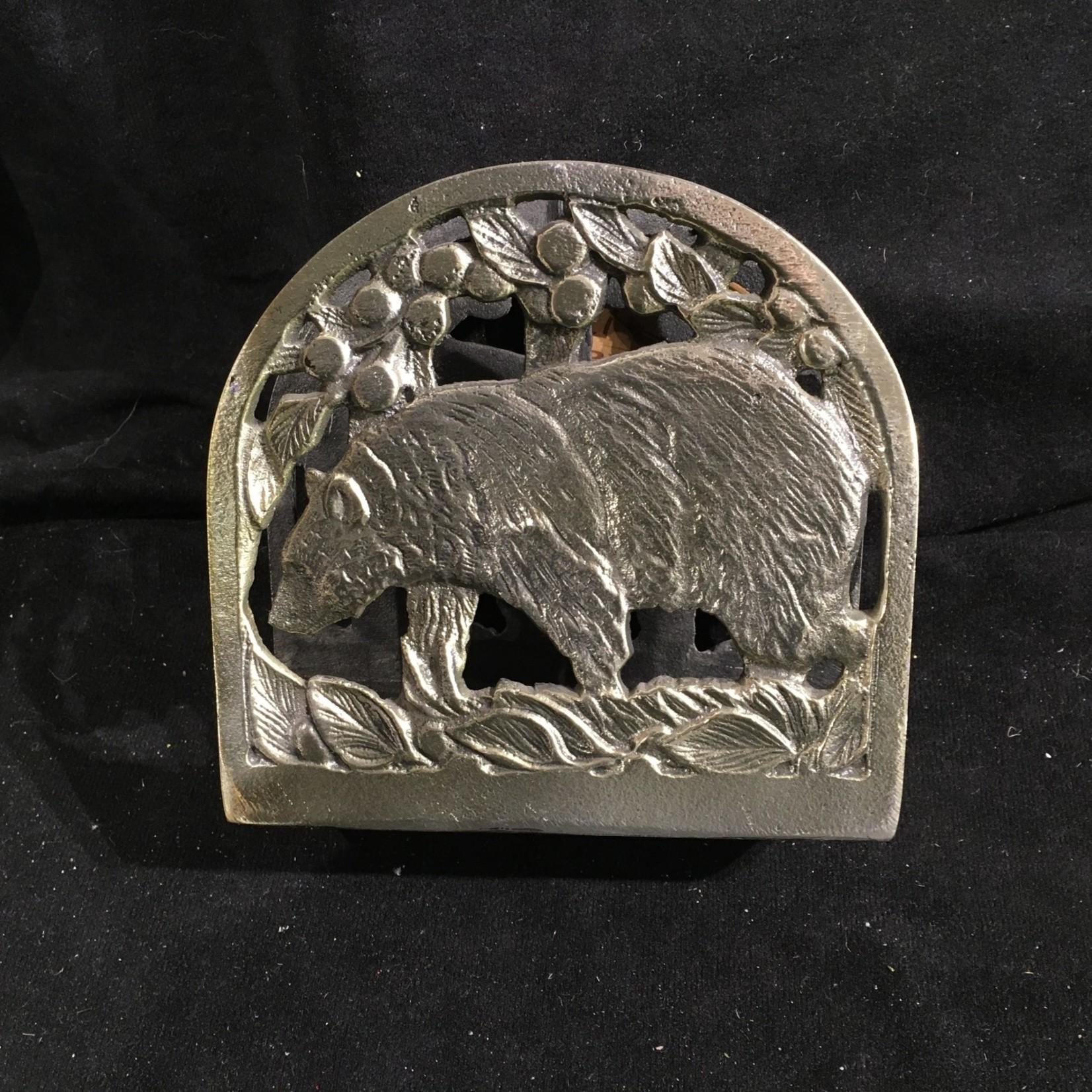 Bear Metal Napkin Holder