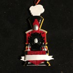 **Train Coming Ornament