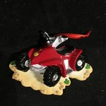 **Personalized 4 Wheeler Orn