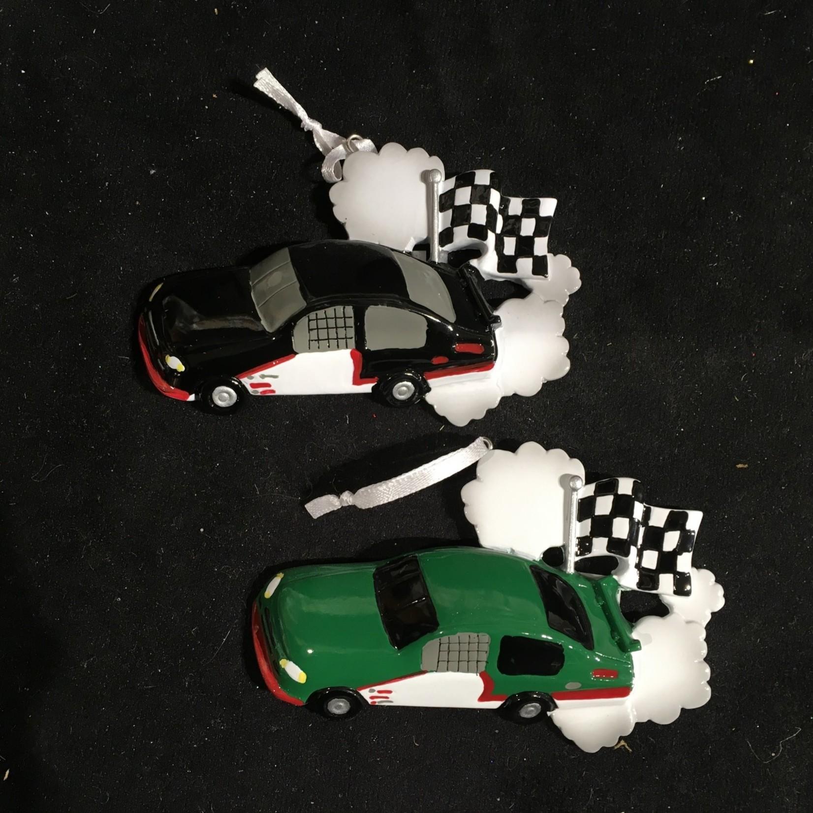 **Racecar Ornament 4A