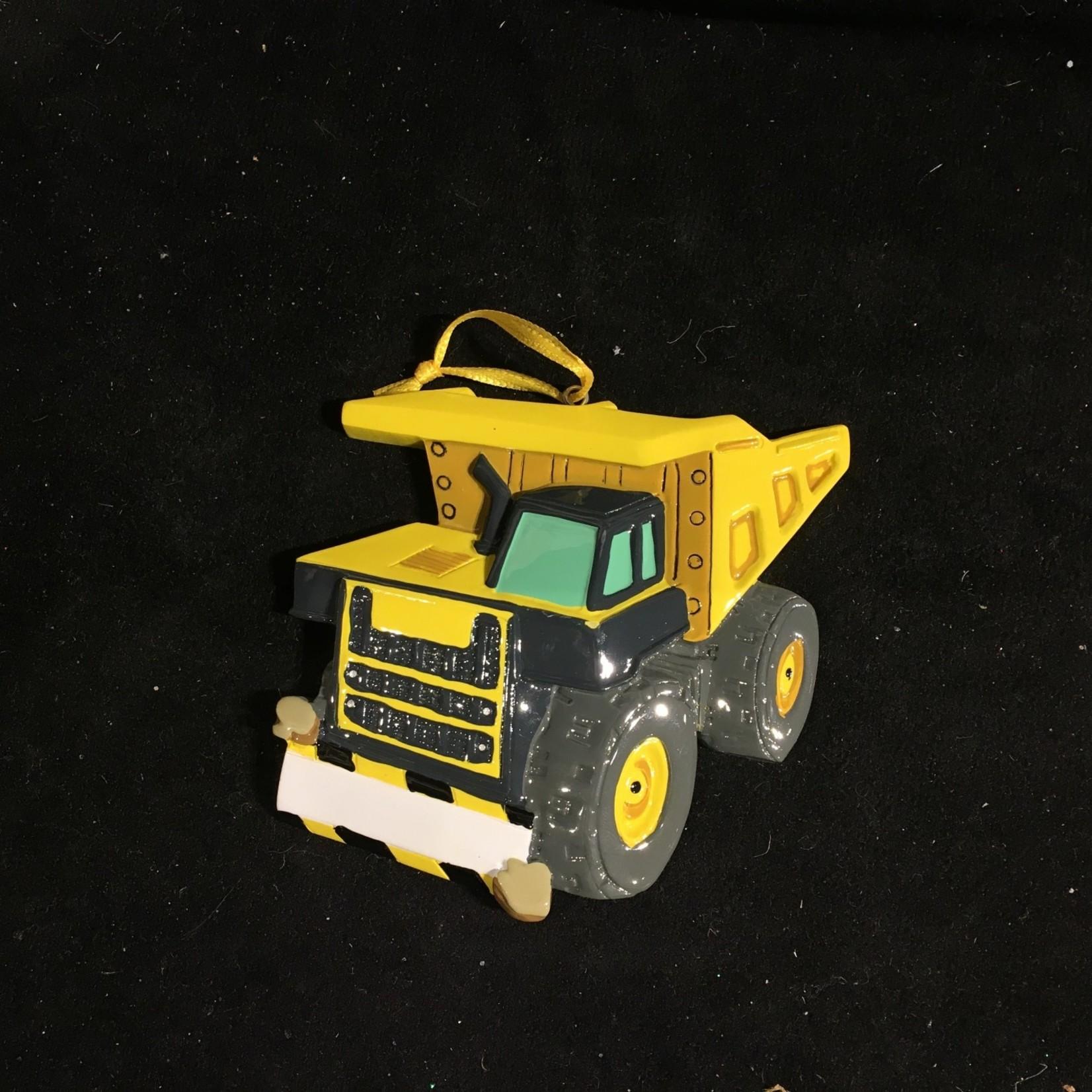 Dump Truck Ornament