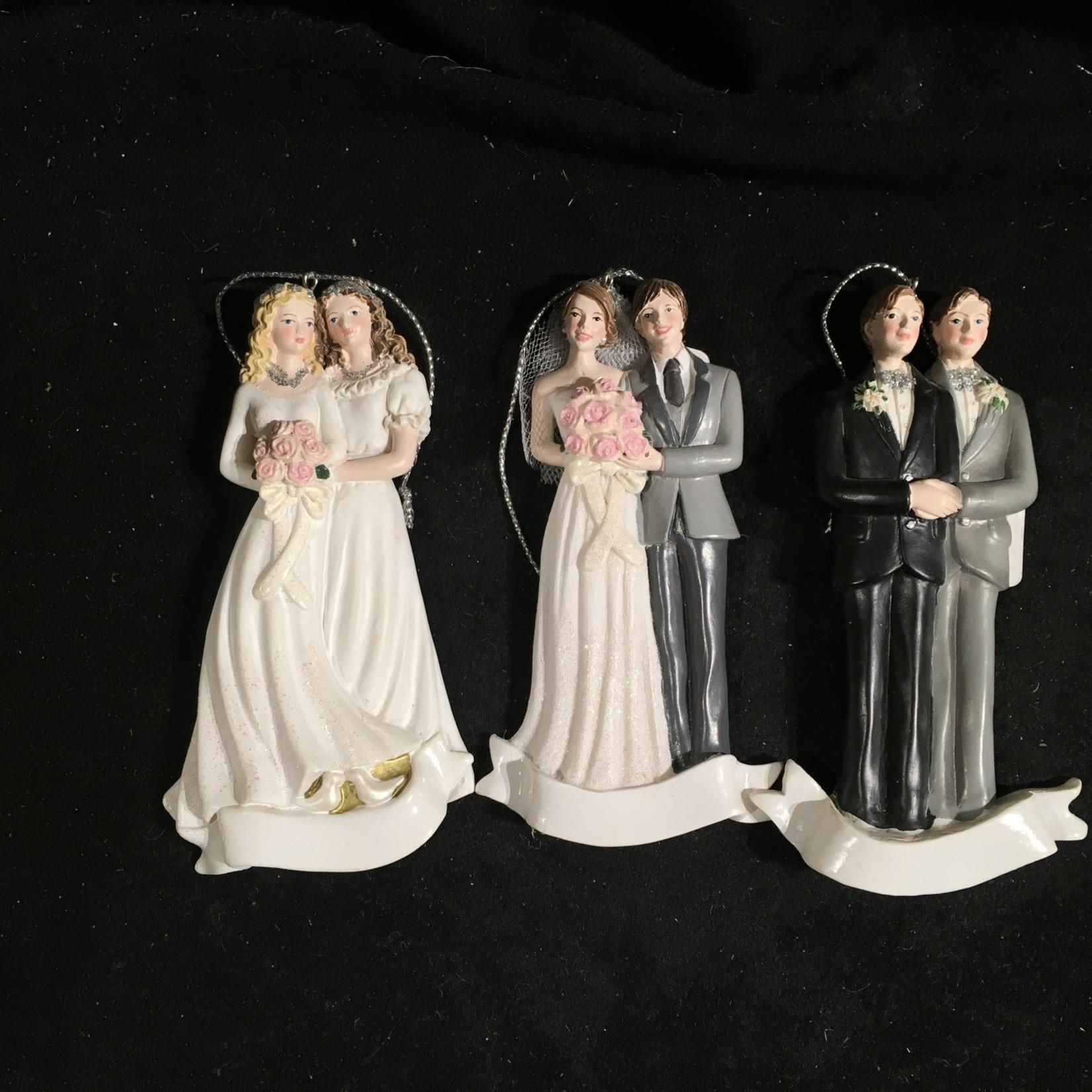 Wedding Couple Orn 3A