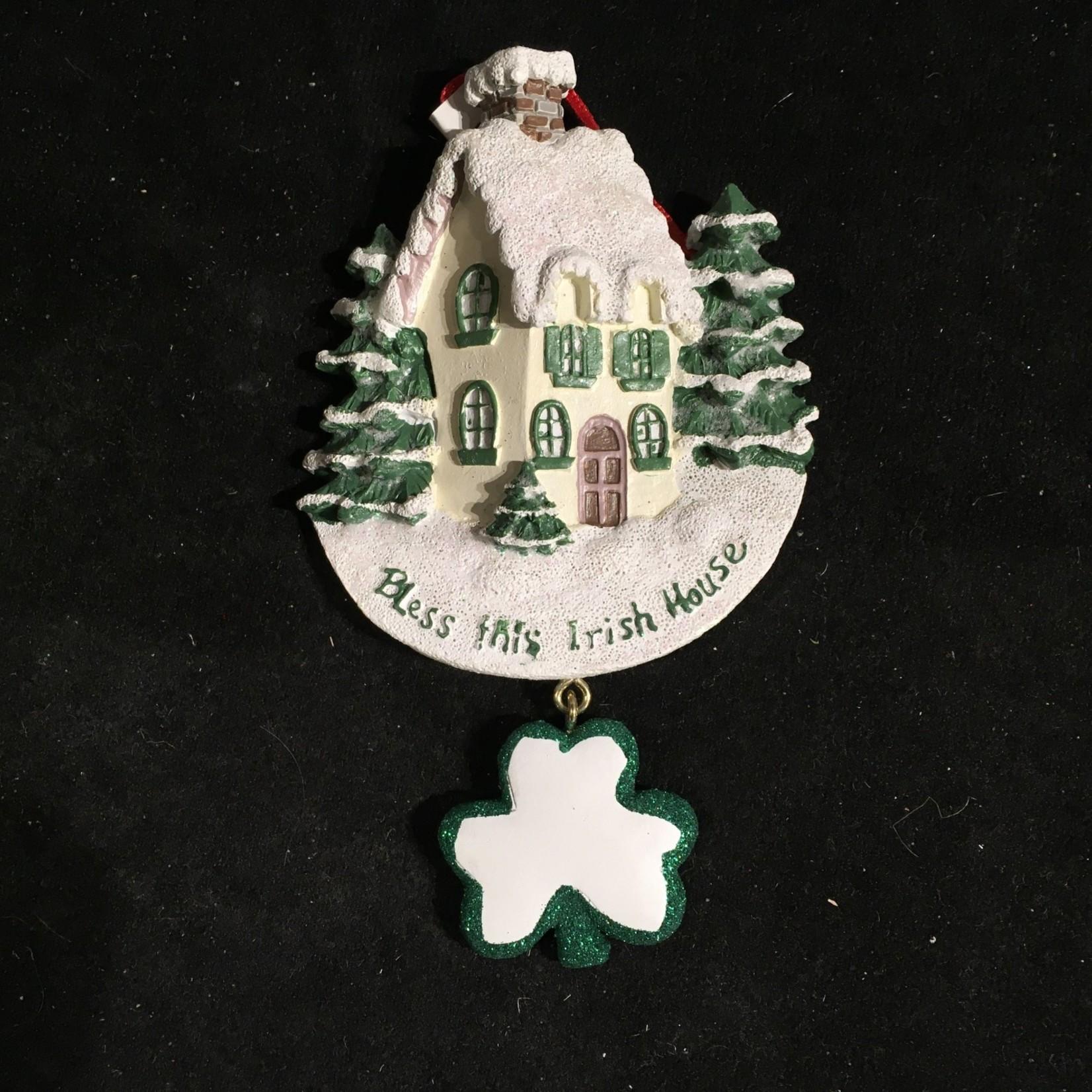 **Bless This Irish House Orn