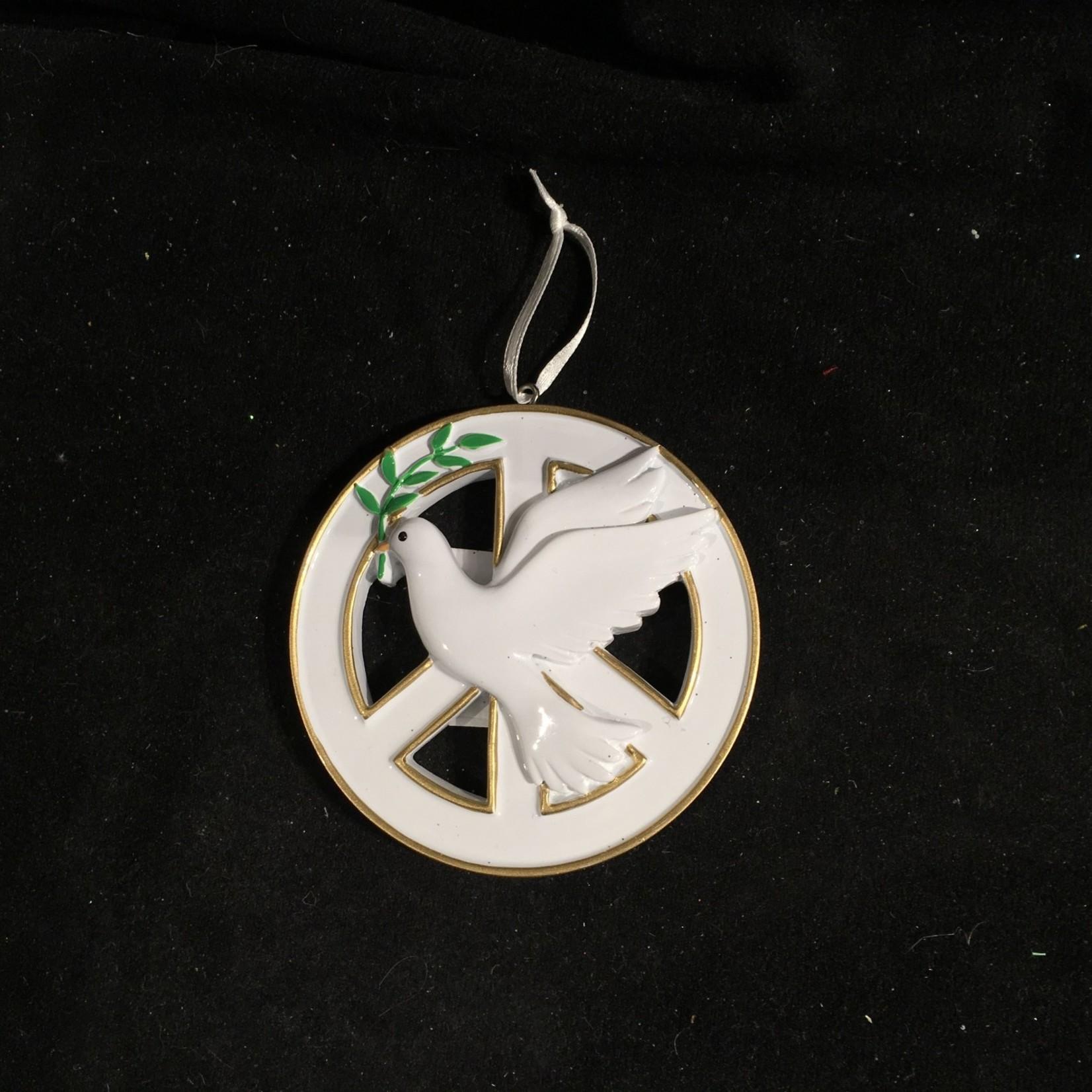 Dove Peace Ornament