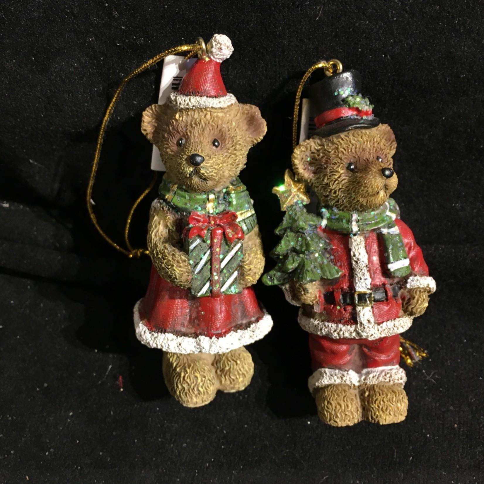 Santa Teddy Bear Orn 2A