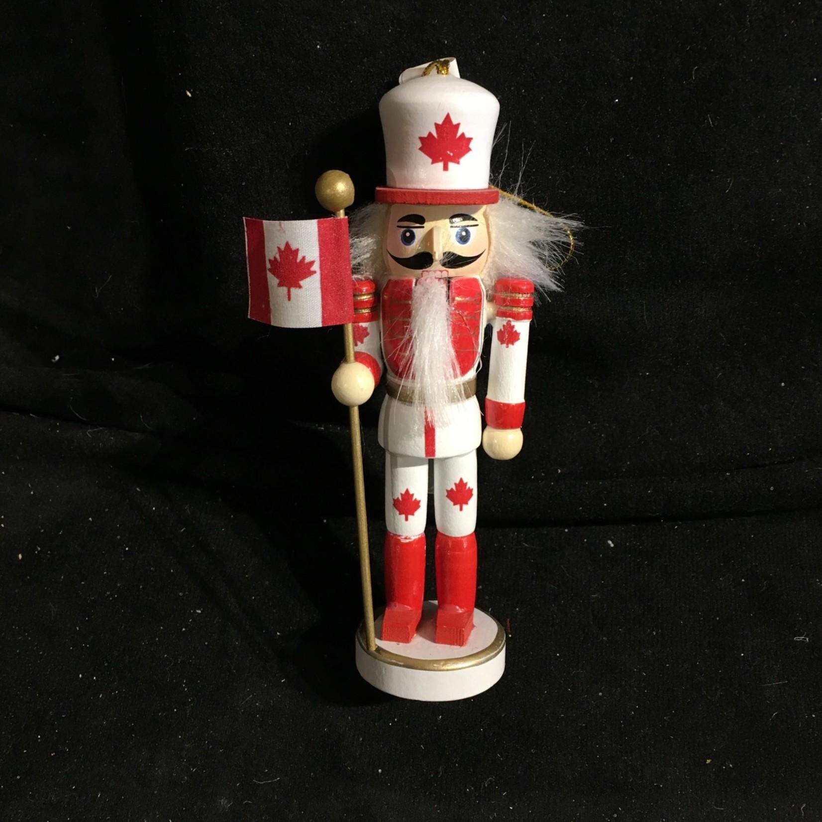 "**5"" Canadian Nutcracker Ornament"