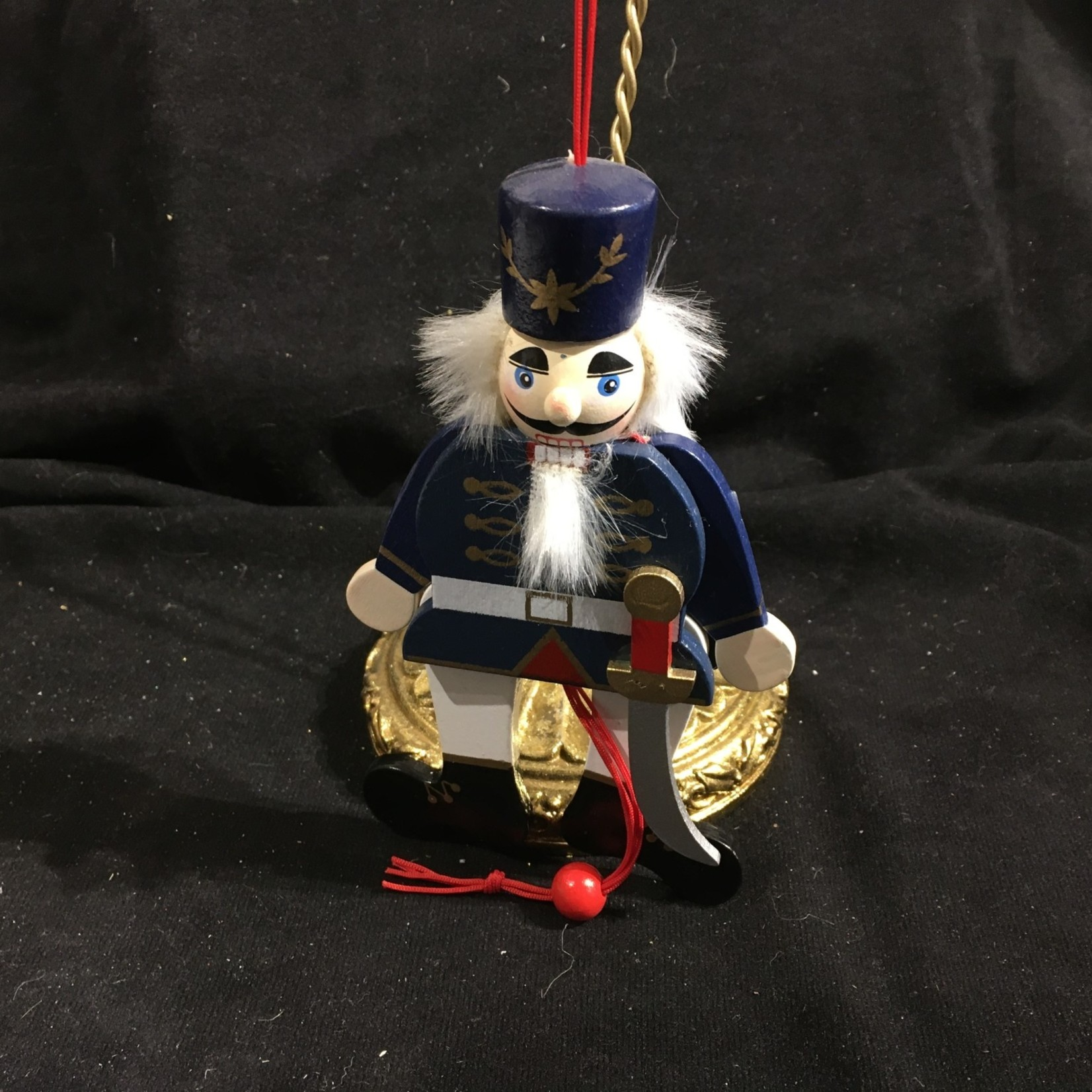 """6"""" Pull Puppet Soldier - Blue"""