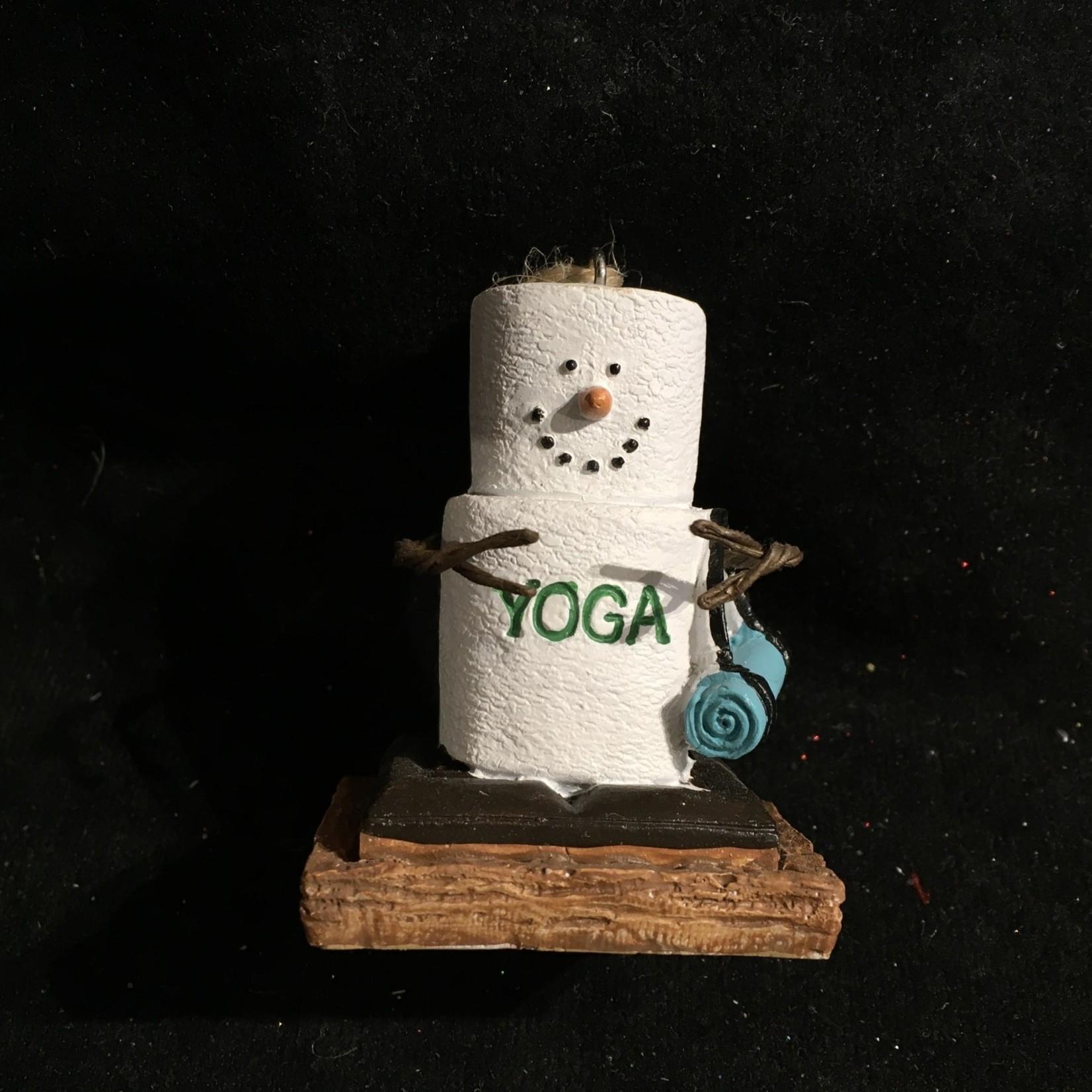**S'Mores Yoga Ornament