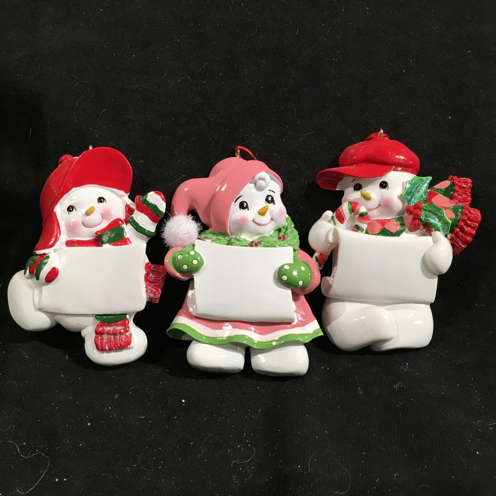 **Snowman Ornament 6A