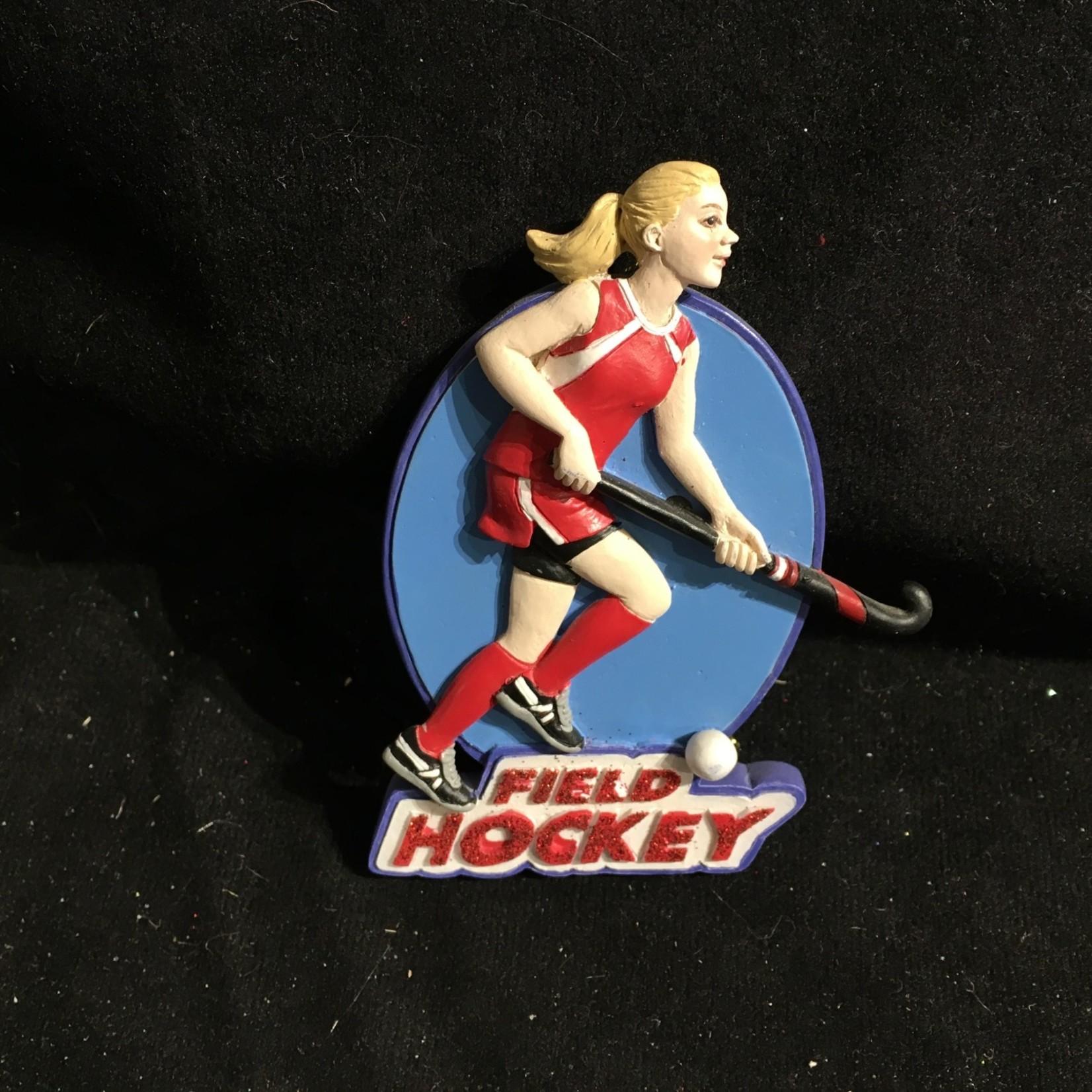 Field Hockey Girl Orn