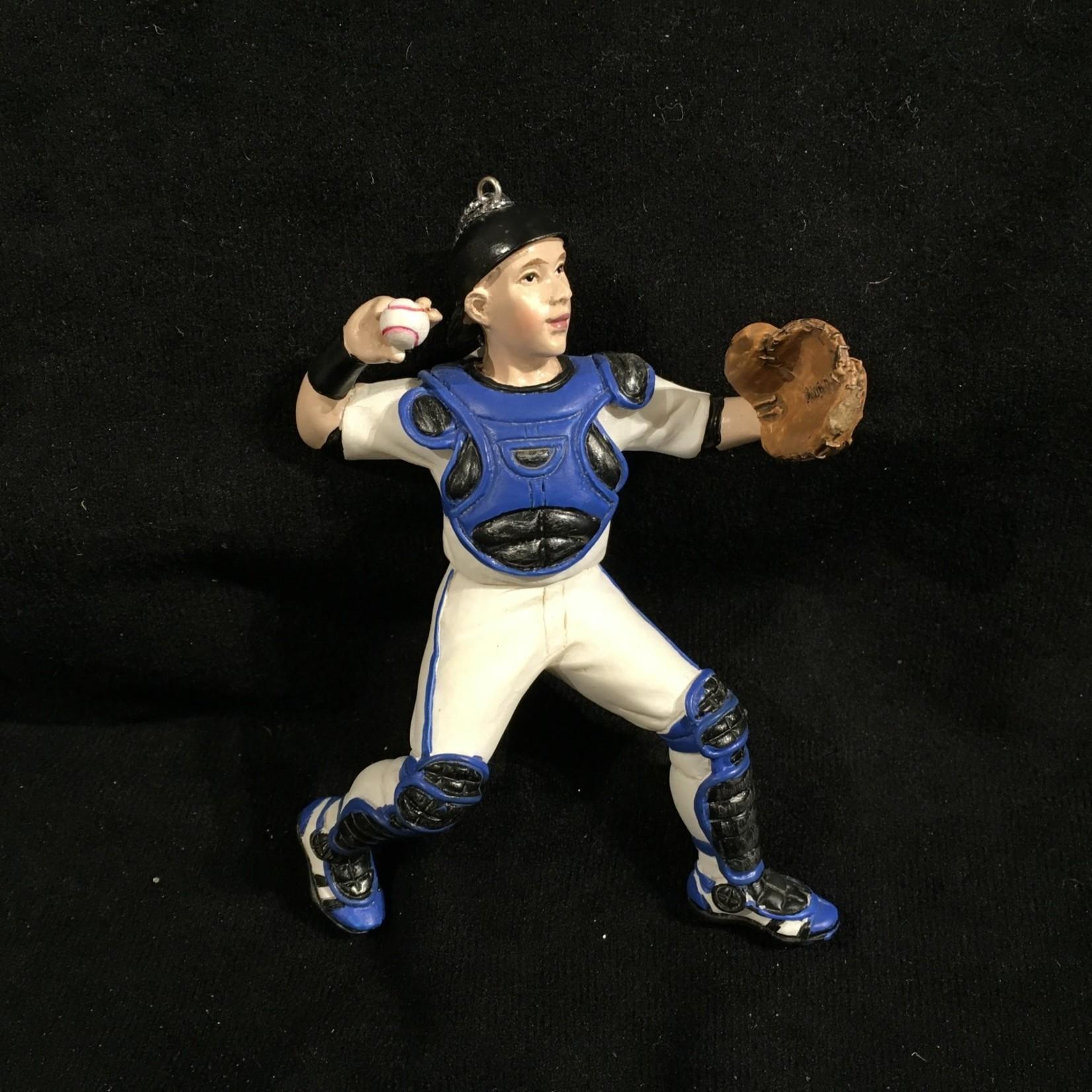 Baseball Catcher Orn