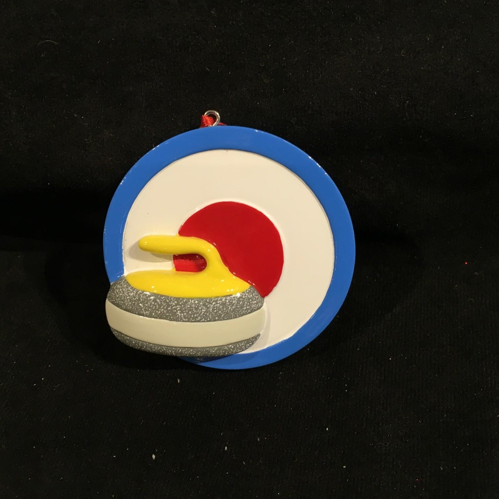 Curling Rink Orn