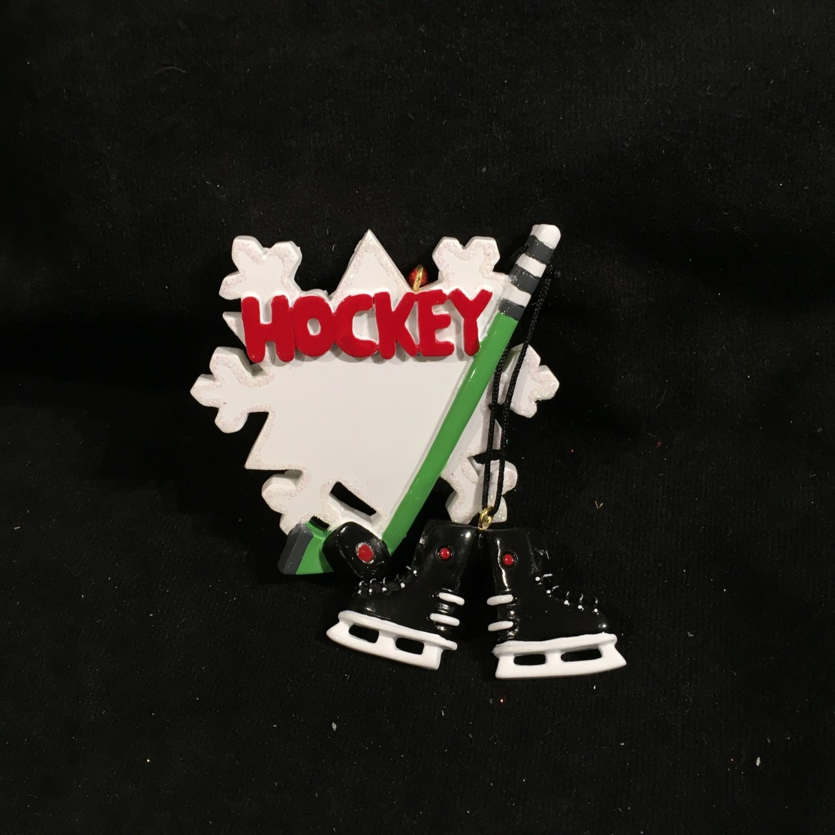 Hockey Snowflake Orn