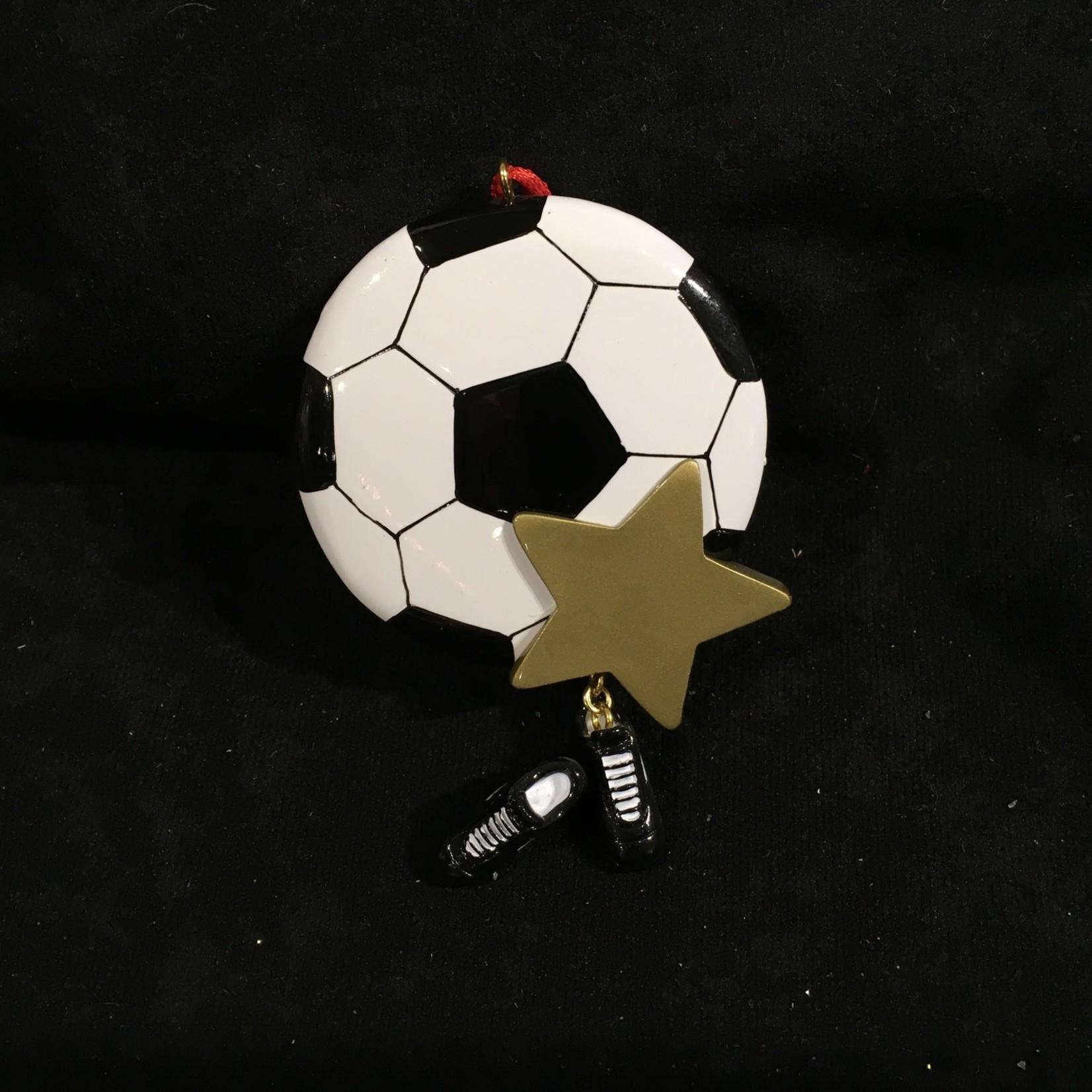 Soccer Star Orn