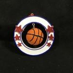 3D Basketball Orn