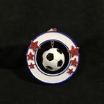 3D Soccer Ball Orn
