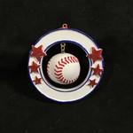 3D Baseball Orn