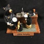 "6.5x5"" Little Helper Bears Figurine"