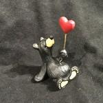 "3.35"" Give Love Mini Bear Figurine"