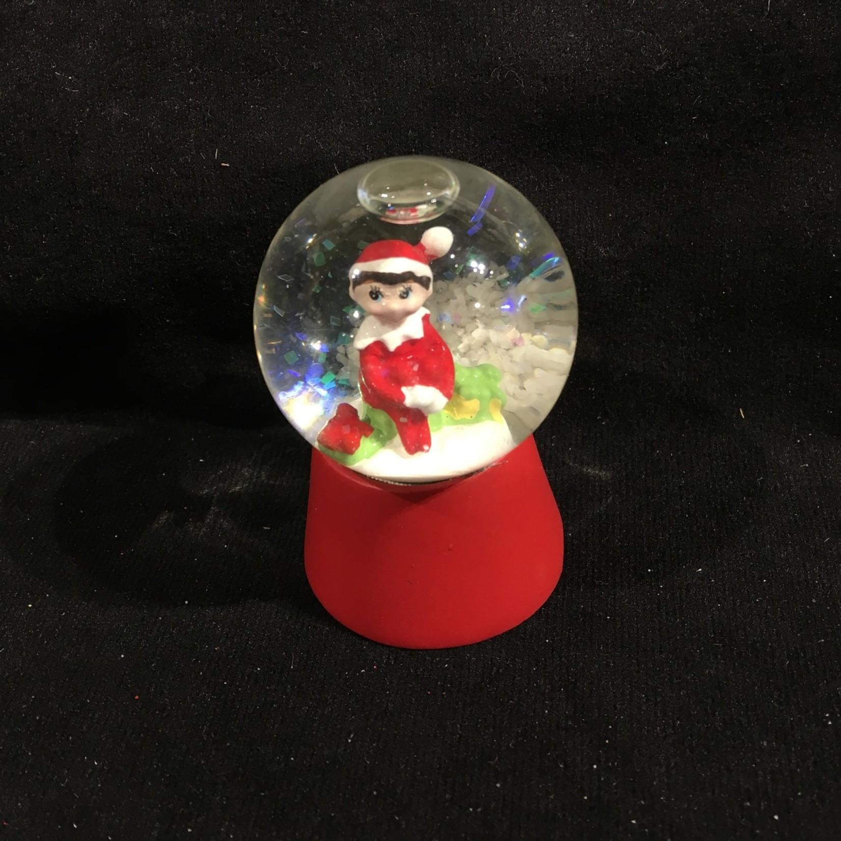 Mini Dome Elf on Shelf