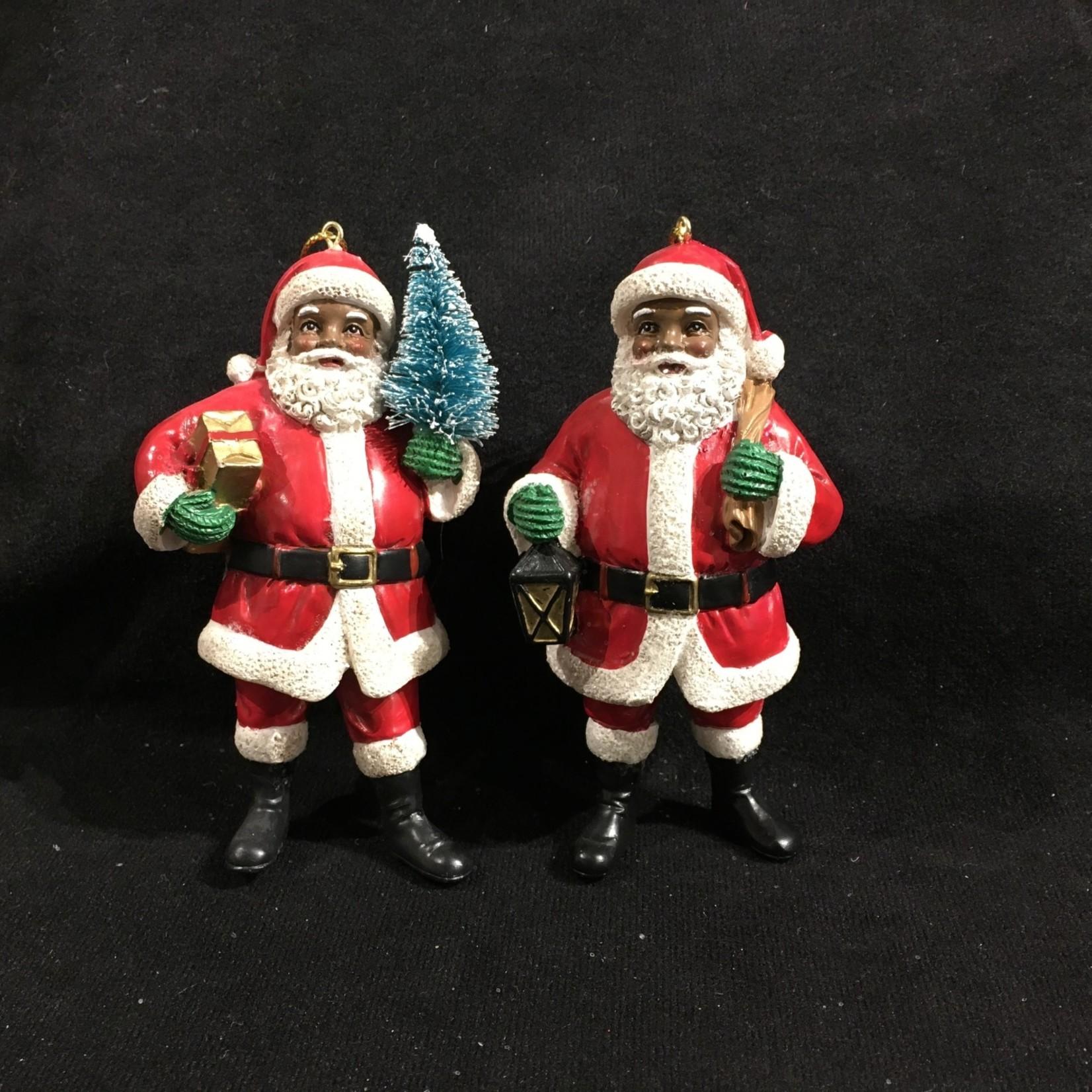 Black Santa Orn 2A