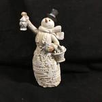 "8.5"" Papercut Snowman Figure"