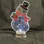"11"" LED Flashing Snowman"