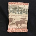 Moose Jacquard Tea Towel