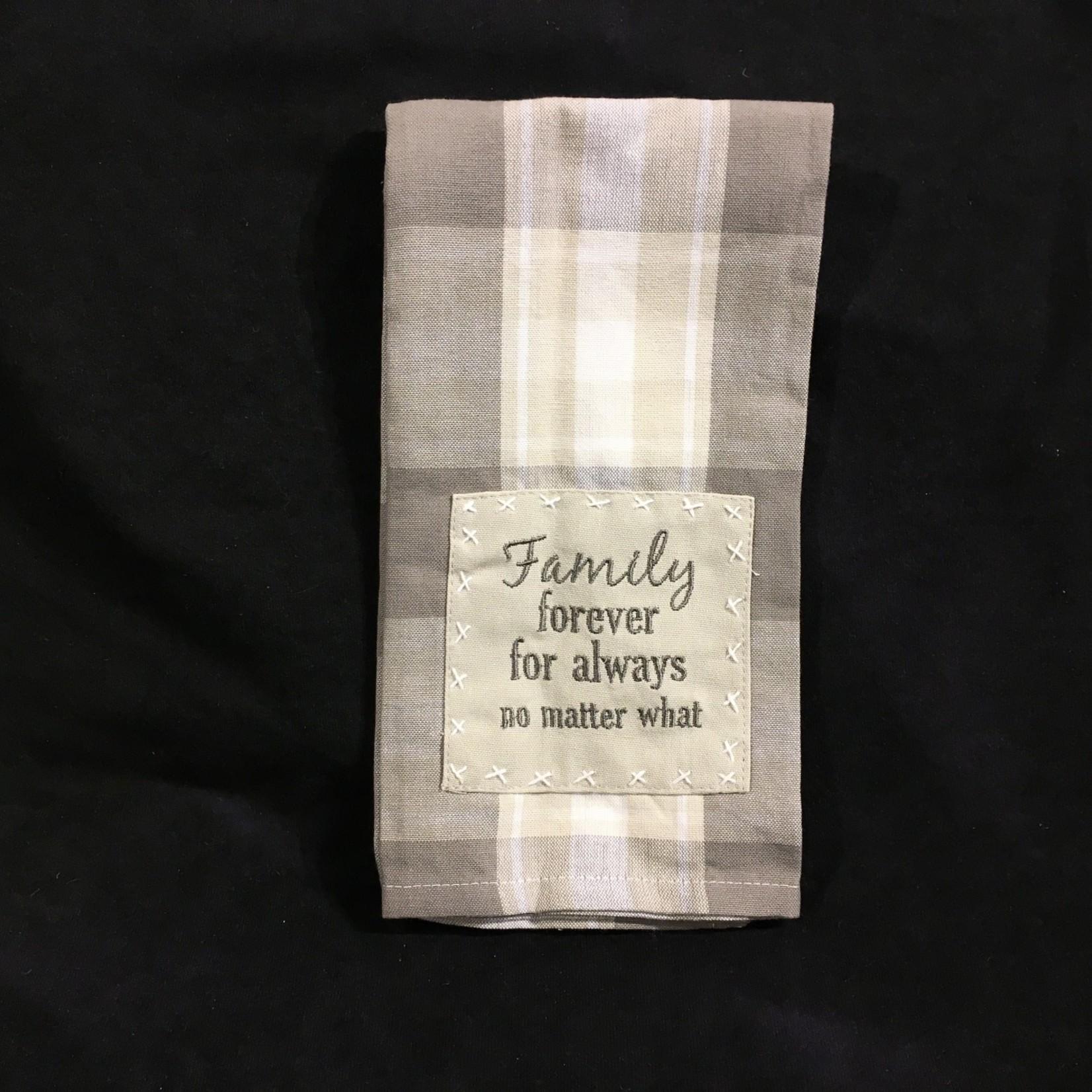 **Family Forever Tea Towel
