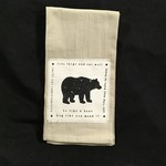 Be Like A Bear Tea Towel