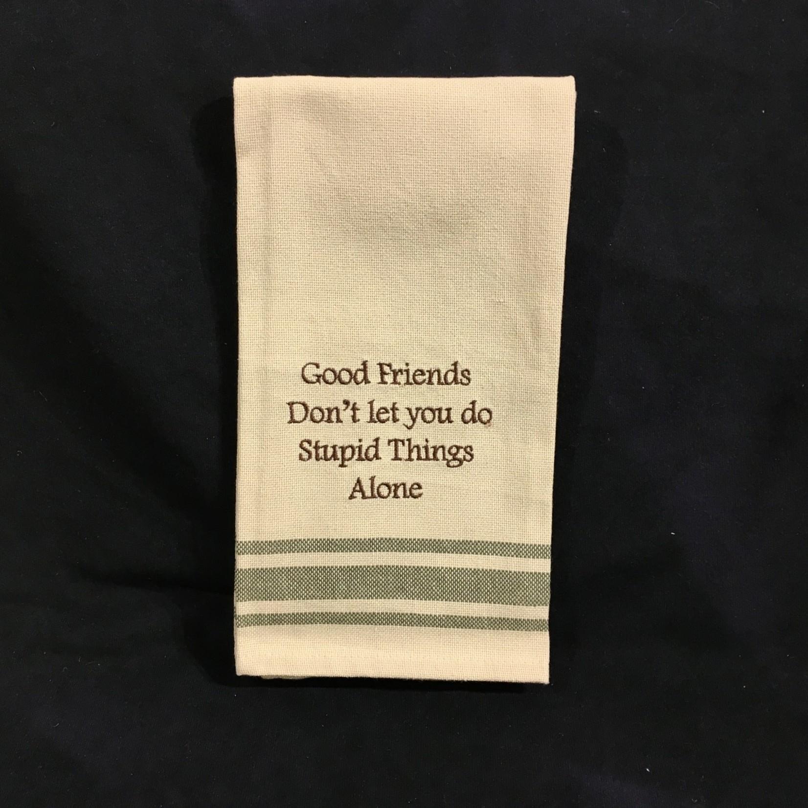 **Good Friends Tea Towel