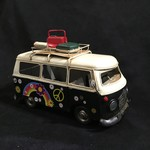 "11x7"" Black Metal Bus"