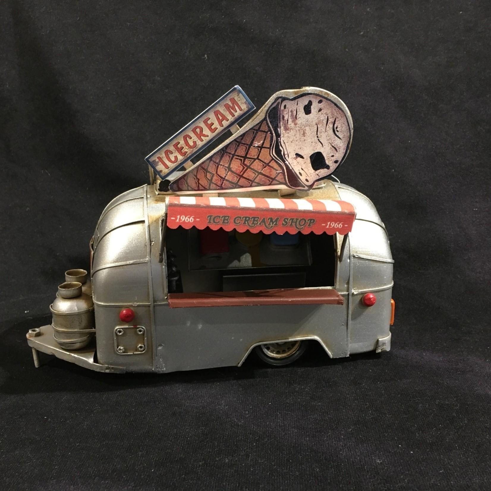 """9.25x7"""" Airstream Ice Cream Camper"""