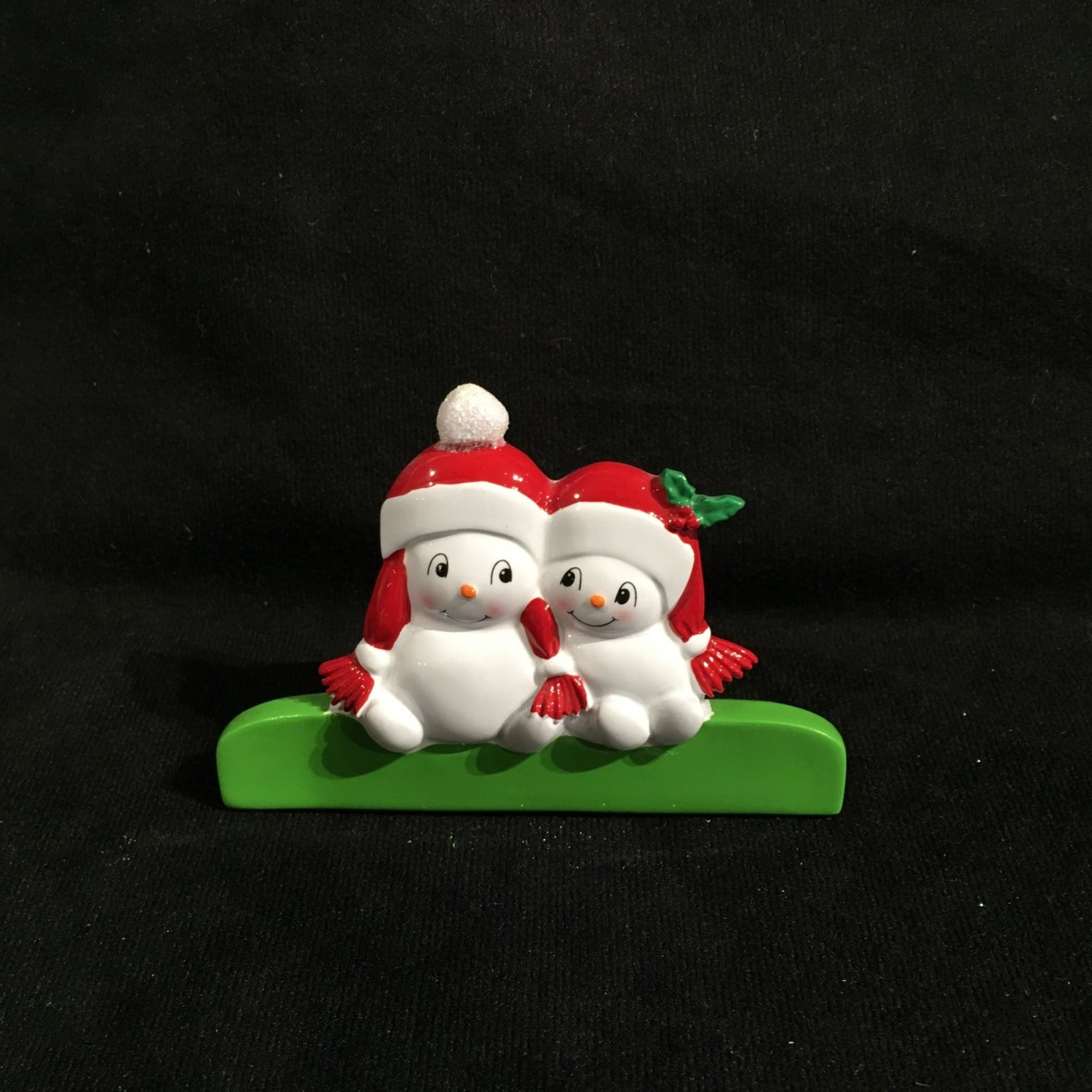 "**2.75"" TT Snowman Family - 2"