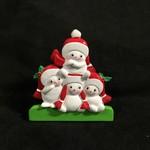 "4.25""  TT Snowman Family - 4"