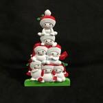 "6.5"" TT Snowman Family - 7"