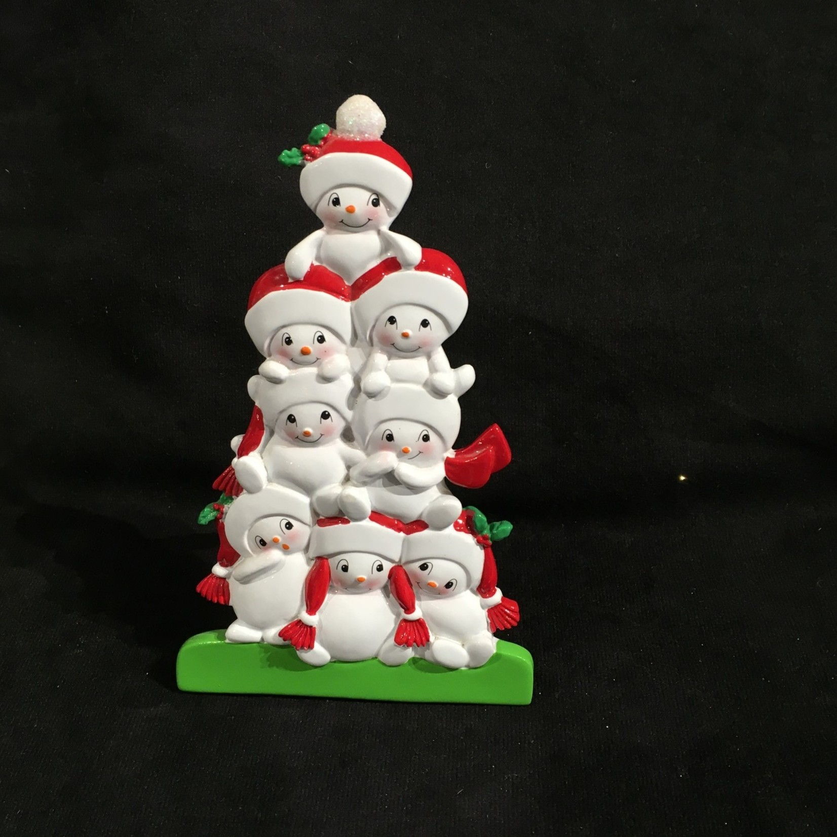 "6.5"" TT Snowman Family - 8"